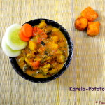 Ram Navami Special - Karela Potato Curry