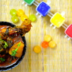 Holi Special - Spicy Palak Chicken
