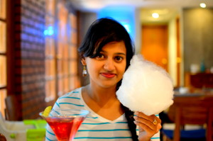 Cotton Candy and me!
