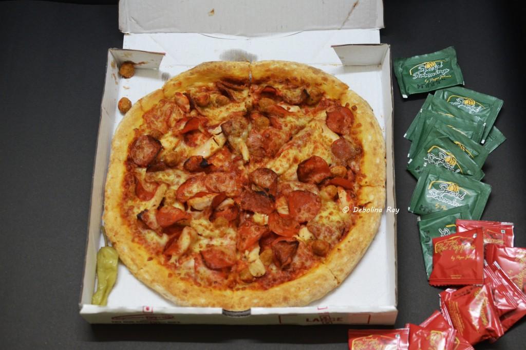 Papa John's Pizza - Spicy Pepper Roast