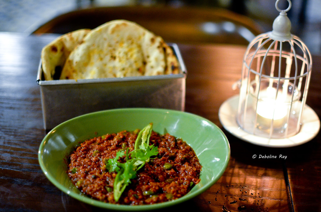 Mutton Keema and Breads
