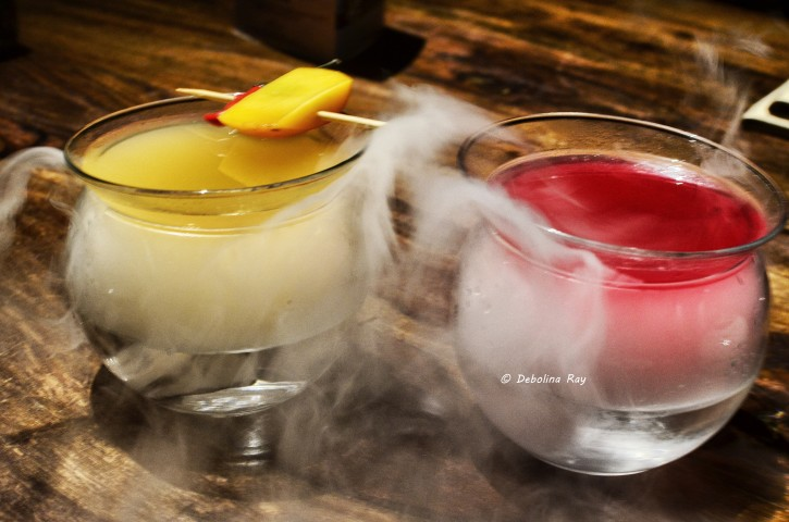 Steaming Cocktails