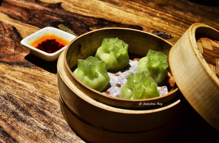 Vietnamese Veg Dumpling - Kafir leaf flavored vegetables and glass noodles