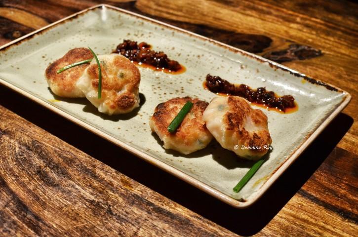 Hot Basil Chicken Dumplings