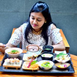Luncheon at Edo, ITC Gardenia