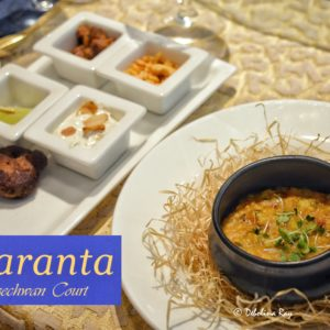 Amaranta at Szechwan Court - The Oberoi, Bengaluru