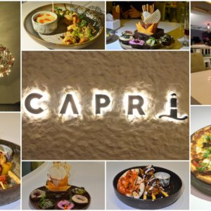 Capri, St.Marks Road - A Review